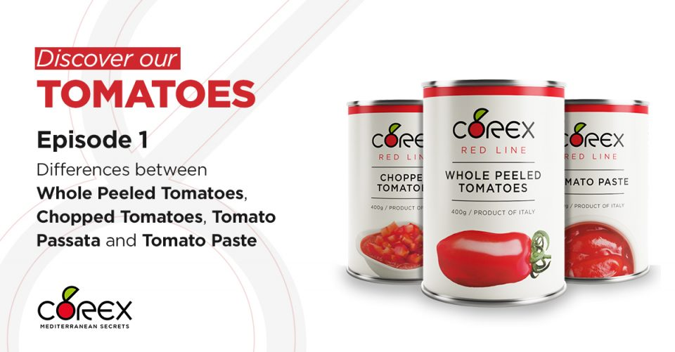 differences between products obtained from tomatoes